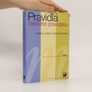 náhled knihy - Pravidla českého pravopisu : školní vydání včetně Dodatku