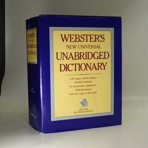 náhled knihy - Webster's New Universal Unabridged Dictionary