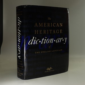 náhled knihy - The American heritage dictionary of the English language