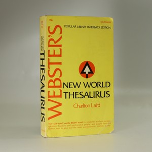 náhled knihy - Webster's New World Thesaurus
