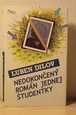 náhled knihy - Nedokončený román jednej študentky
