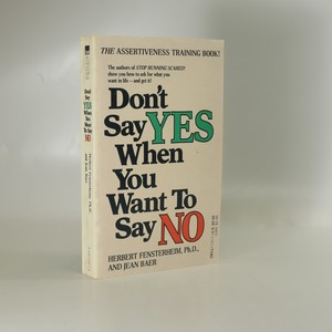náhled knihy - Don't Say Yes when You Want to Say No