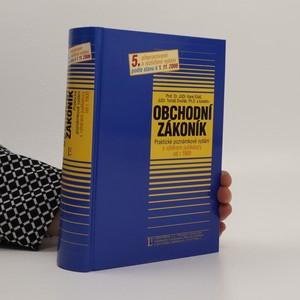 náhled knihy - Obchodní zákoník : praktické poznámkové vydání s výběrem z judikatury od roku 1900