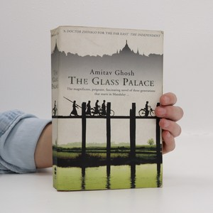 náhled knihy - The glass palace (špinavá ořízka, zkosený hřbet)