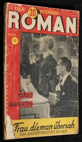 náhled knihy - Der 30 Pfennig-Roman 51 (Die Frau, Die Man Übersah)