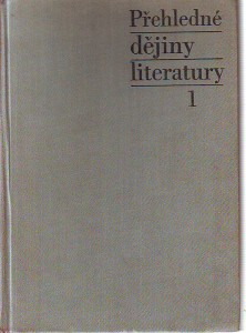 Přehledné dějiny literatury 1.