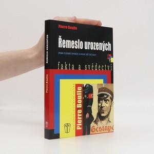 náhled knihy - Řemeslo urozených : drama vojenské špionáže za druhé světové války