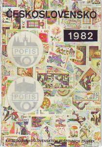 náhled knihy - Československo 1982. Katalog poštovních známek 1945 - 1981.