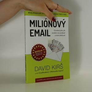náhled knihy - Miliónový email