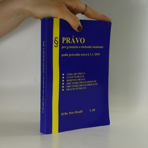 náhled knihy - Právo pro gymnázia a obchodní akademie. 1. díl