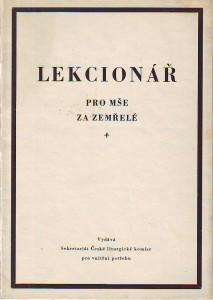 náhled knihy - Lekcionář pro mše za zemřelé