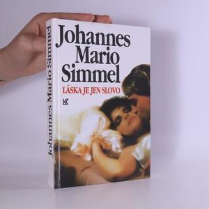 náhled knihy - Láska je jen slovo
