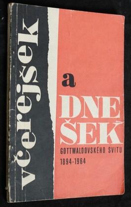 náhled knihy - Včerejšek a dnešek gottwaldovského Svitu 1894-1964
