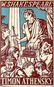 náhled knihy - Timon Athenský