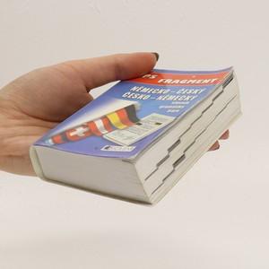 antikvární kniha Kapesní německo-český, česko-německý slovník, 2005