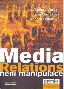 náhled knihy - Media Relations není manipulace