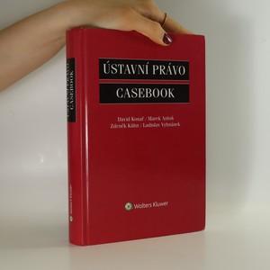 náhled knihy - Ústavní právo : casebook