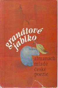 náhled knihy - Granátové jablko. Almanach mladé české poezie.