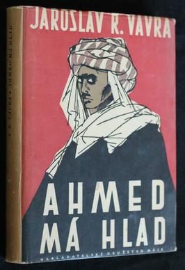 náhled knihy - Ahmed má hlad : saharské epos