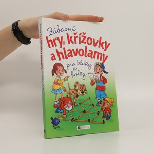 náhled knihy - Zábavné hry, křížovky a hlavolamy pro kluky a holky