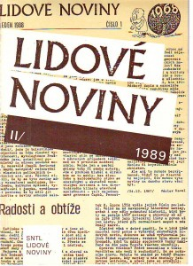 náhled knihy - Lidové noviny I.-II. 1988 - 1989.