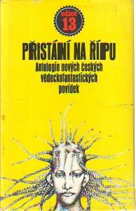 náhled knihy - Přistání na Řípu. Antologie nových českých vědeckofantastických povídek.