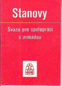 náhled knihy - Stanovy Svazu pro spolupráci s armádou