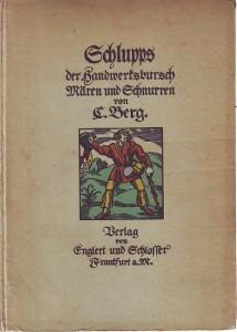 náhled knihy - Schlupps der Handwerksbursch. Mären und Schnurren.