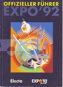 náhled knihy - Offizieller Führer EXPO'92