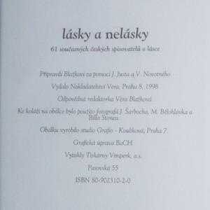 antikvární kniha Lásky a nelásky, 1998