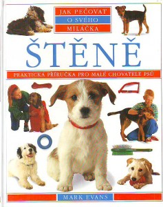 náhled knihy - Štěně. Praktická příručka pro malé chovatele psů.
