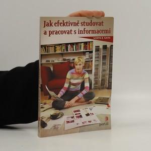 náhled knihy - Jak efektivně studovat a pracovat s informacemi