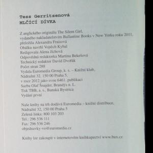 antikvární kniha Mlčící dívka, 2012