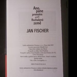 antikvární kniha Ano, pane premiére, aneb, Rozhašená země, 2010