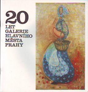 náhled knihy - 20 let Galerie hlavního města Prahy. Výstava ze sbírek.