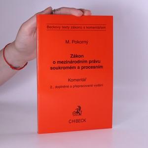 náhled knihy - Zákon o mezinárodním právu soukromém a procesním