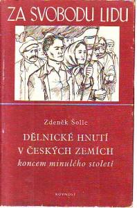 náhled knihy - Dělnické hnutí v českých zemích koncem minulého století