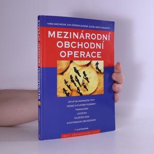 náhled knihy - Mezinárodní obchodní operace