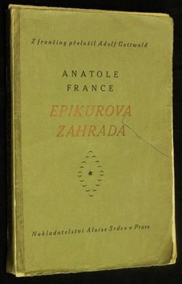 náhled knihy - Epikurova zahrada
