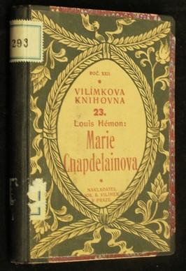 náhled knihy - Marie Chapdelainova