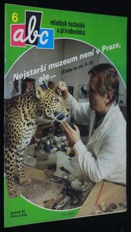 náhled knihy - ABC mladých techniků a přírodovědců. roč.34, č.6