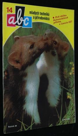 náhled knihy - ABC mladých techniků a přírodovědců. roč.34, č.14