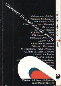 náhled knihy - Literatura 19. a začátku 20. století. Pro 2. ročník středních škol.