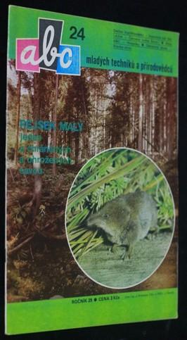 náhled knihy - ABC mladých techniků a přírodovědců. roč.29, č.24