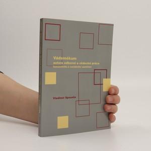 náhled knihy - Vádemékum autora odborné a vědecké práce humanitního a sociálního zaměření