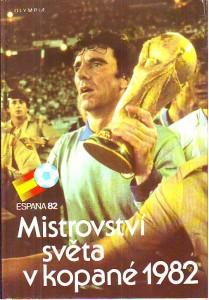 náhled knihy - Mistrovství světa v kopané 1982