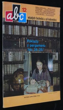 náhled knihy - ABC mladých techniků a přírodovědců. roč.29, č.12