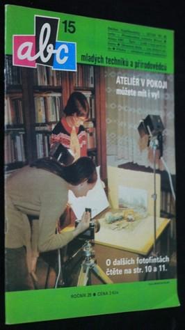 náhled knihy - ABC mladých techniků a přírodovědců. roč.29, č.15