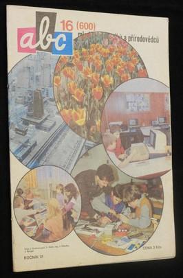 náhled knihy - ABC mladých techniků a přírodovědců. roč.31, č.16