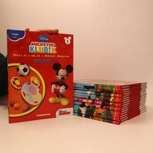 náhled knihy - 18x Mickeyho klubík. Hraj si a uč se s Mickey Mousem (18 svazků, viz poznámka)